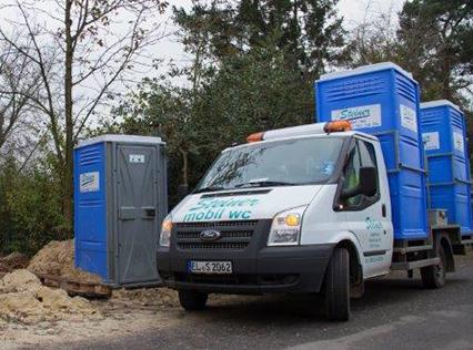 Mobile toiletten mieten